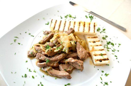 Calf Liver with onions Venetian Style