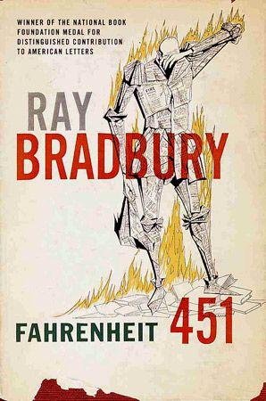 Ray Bradbury (R.I.P.) Fahrenheit 451 Book Covers Through Time - Slate Magazine