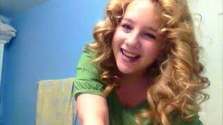 heatless curls overnight - YouTube