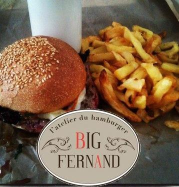 Big Fernand - Hamburgers délicieux environ 15€ - rue du Faubourg Poissonnière Paris 9 - Pas de réservation