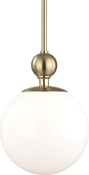 Hudson valley mitzi daphne 10 5 inch pendant in aged brass see all popular light fixtures and get home lighting ideas for indoor and outdoor lights at