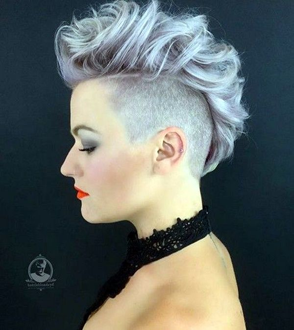 45 Short Punk Hairstyles And Haircuts That Have Spark To