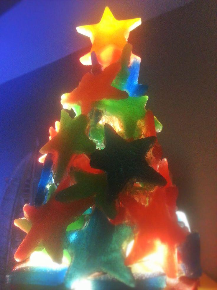 Soapy Christmas Tree