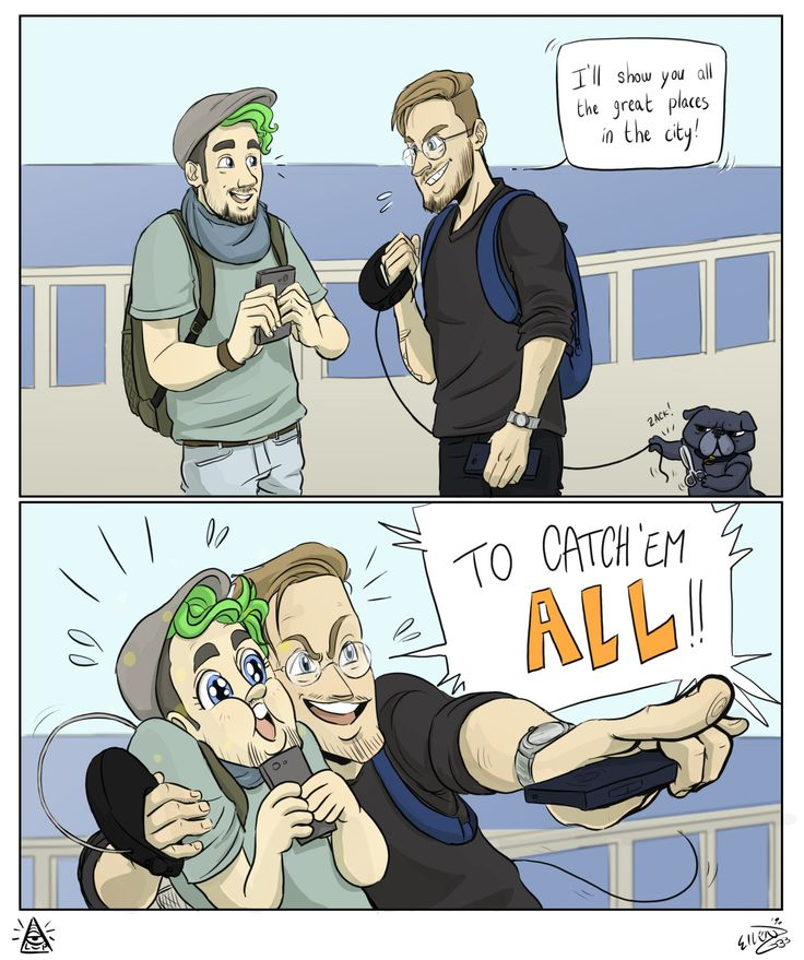 Haha Edgar in the first panel XD and Jackaboy's face in the second one