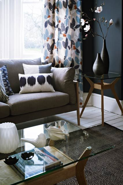 Curtains - Living Room Furniture & Designs - Decorating Ideas (houseandgarden.co.uk)