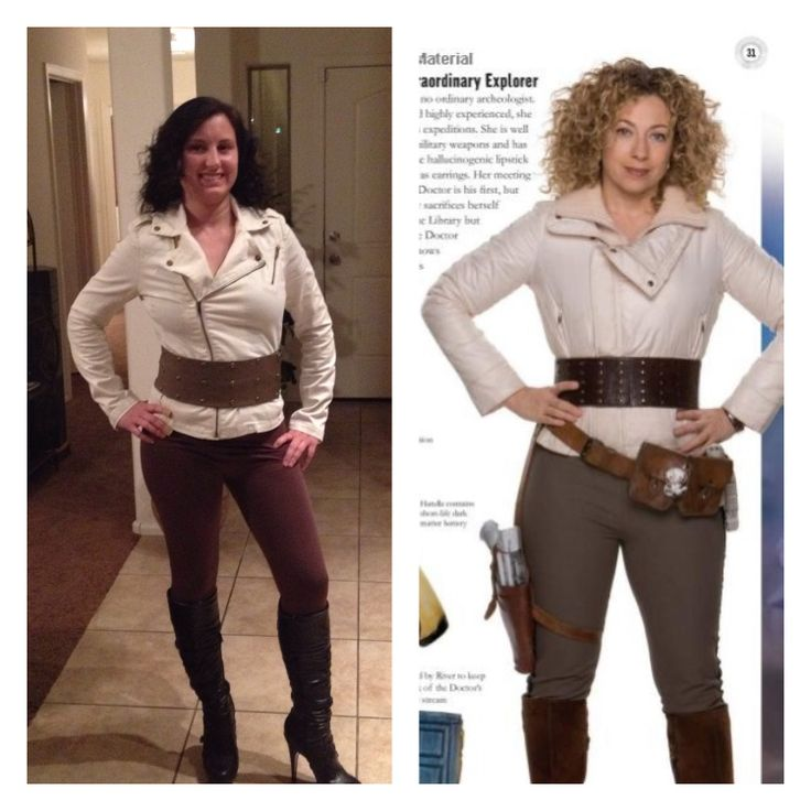River song cosplay! Doctor who
