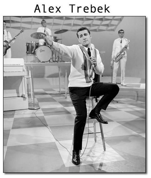 Alex TrebekCbc, Famous People, Trebek Host, Young Alex, Televi 1963, Music Hop, Canada Music, Alex Trebek, Alex O'Loughlin