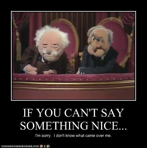 Muppets statler and waldorf quotes quotesgram for Balcony quotes