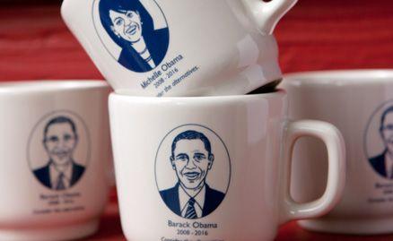 Obama Mug Gift Box Pair by Fishs Eddy