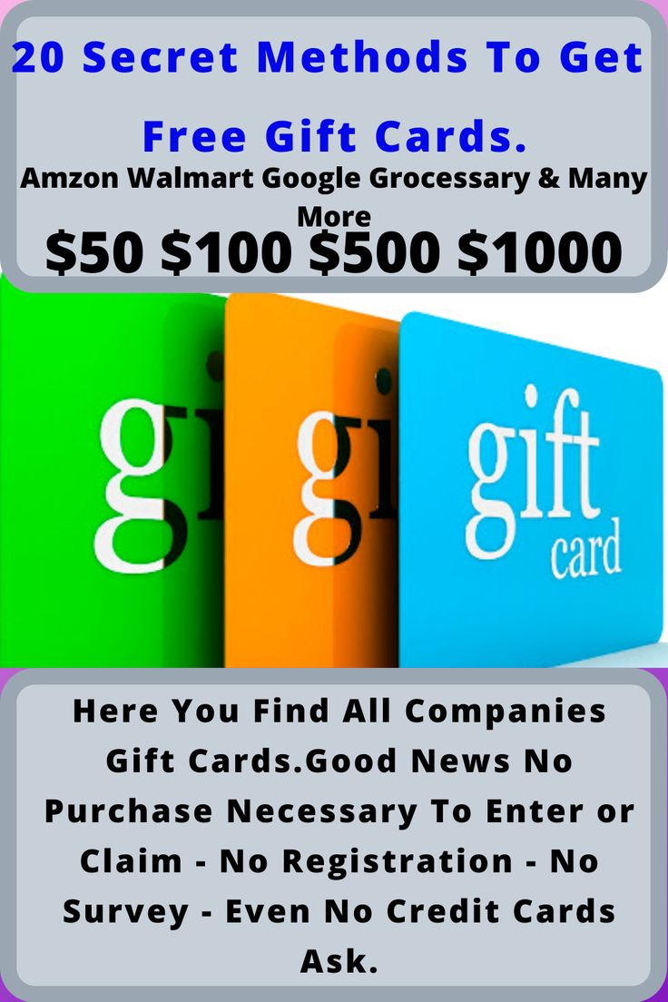 Here you find all companies gift cardsgood news no
