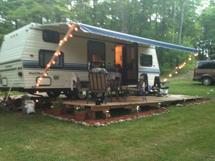 29 Best Camper Deck Ideas Images On Pinterest Campers