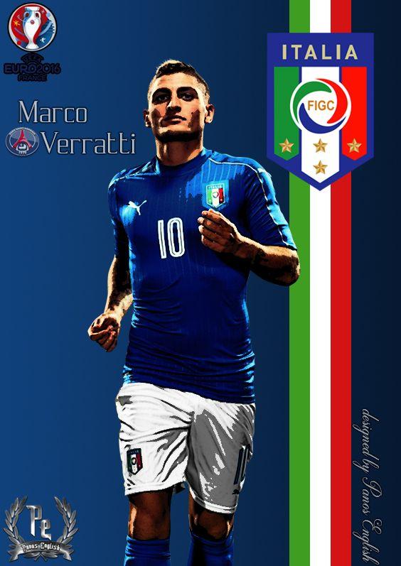 Marco Verratti by PanosEnglish.deviantart.com on @DeviantArt