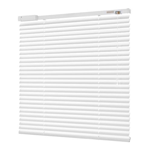 SOHO GLOSS WHITE 6V DC BATTERY POWERED ELECTRIC VENETIAN BLIND. #Shades #Home #HomeDecor #InteriorDesign #Decor #RollerBlinds  #CreateYourHome #BudgetBlinds #WindowShades #Window  #Design #Blind #WindowCoverings #Windows #MadeinUK