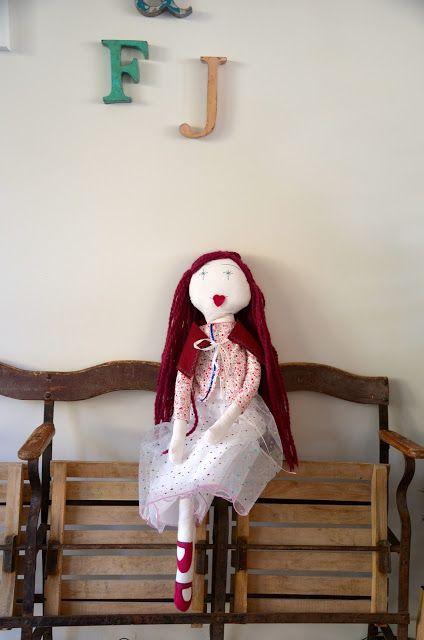 Miss Sa.Cha : Une poupée de tissus pour Nöel