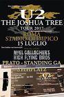 #lastminute  1x U2 ROME PRATO GA Standing Ticket 15.7. Biglietto Biglietti Stehplatz ROMA ROM #Ostereich