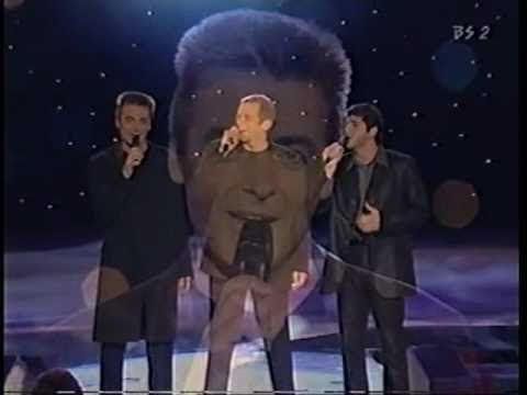 Belle, the original cast(Garou, Daniel, Patric) - YouTube