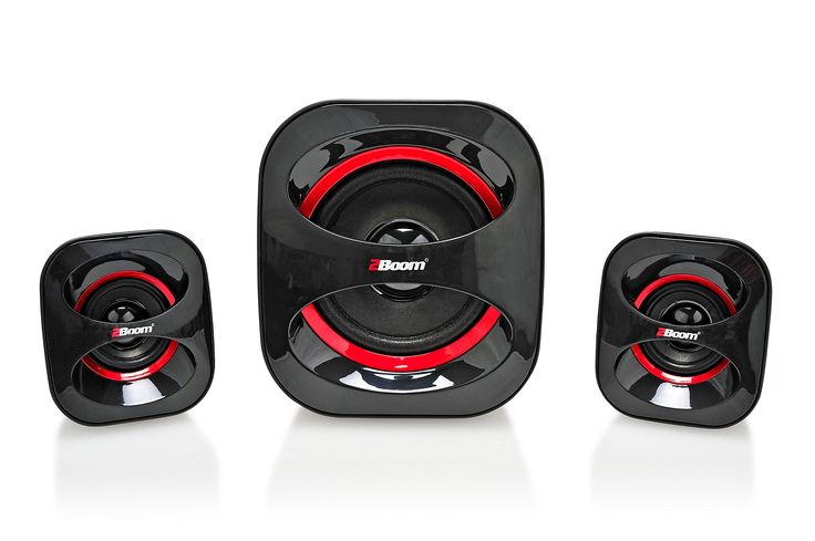 2BOOM USB Powered, Stylish multimedia speakers with Surround Sound Experience Black. USB Powered, 2.1 Channel With Sub Woofer. Compact Design For Standard Home Workplaces, Desktop PC, Laptop, Tablets And Smartphones. Unlimited Play On When Listening To Music, Videos, And Enhancing Effect Of Gaming Sound Tracks While Playing Games. Stereo Satellite Speakers Matched With Passive Radiators For Deeper Low Notes And Sharper Highs And Mids. Treble Amplifiers Turn Out Phenomenally Clean Power At...