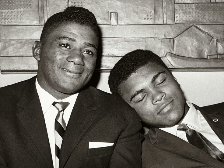 Muhammad Ali and Floyd Patterson