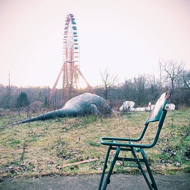 Just Outside Berlin Lies Spreepark, An Abandoned East