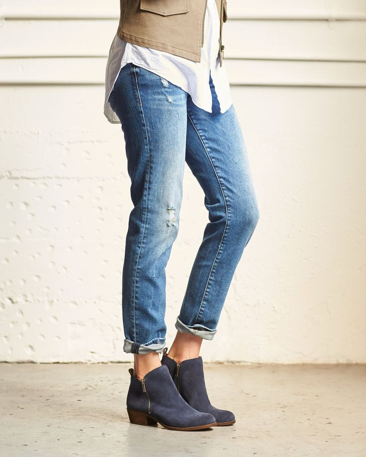 The secret to looking stylish? Cuffs! Elevate any denim look with 3 ways to cuff your jeans.