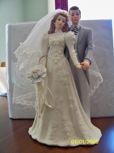 Wedding Cake Topper Techy