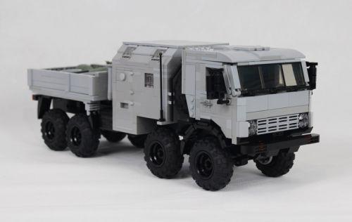 Lego KamAZ 63501 Truck