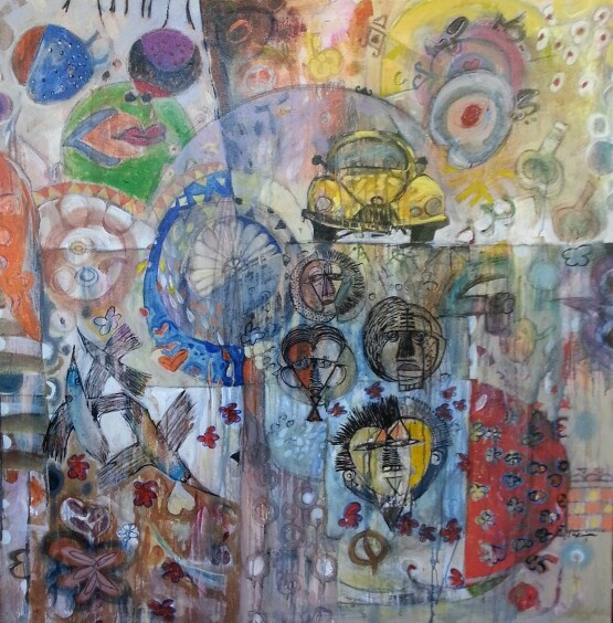 Hussein Saliem / new works just arrived in the gallery