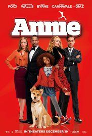 Annie Poster - watched 2/7/16 - I found this a little uneven, but overall I enjoyed it. I liked the updated feel a lot more than I anticipated and most of the remixed original songs worked really well. But there were definitely some super rough spots that took away from my enjoyment of the movie.