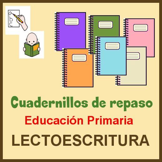 DIFICULTADES LECTORAS: Cuadernillos de Repaso para Educación Primaria