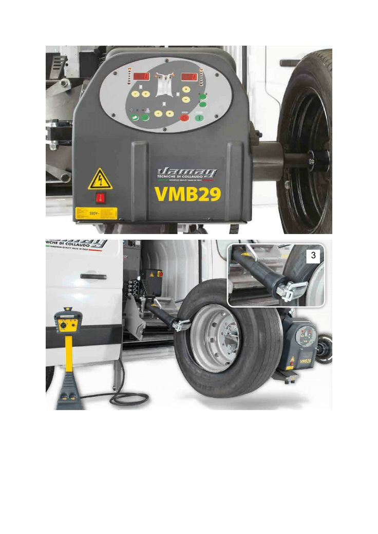 """Latest """"All in One"""" #mobile #tyre fitting and balancing #machine from the #Italian Manufacturer #Vamag"""