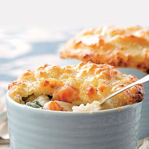 Biscuits, Parmesan and Vegetable pot pies on Pinterest
