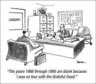 #on tour with the greatful dead