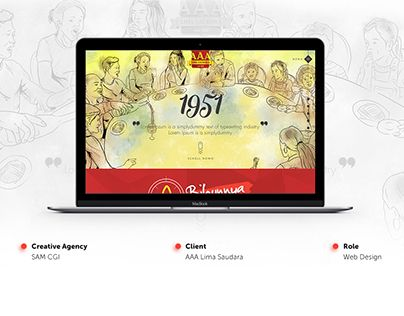 "Check out new work on my @Behance portfolio: ""Microsite Bihun AAA"" http://be.net/gallery/50622493/Microsite-Bihun-AAA"