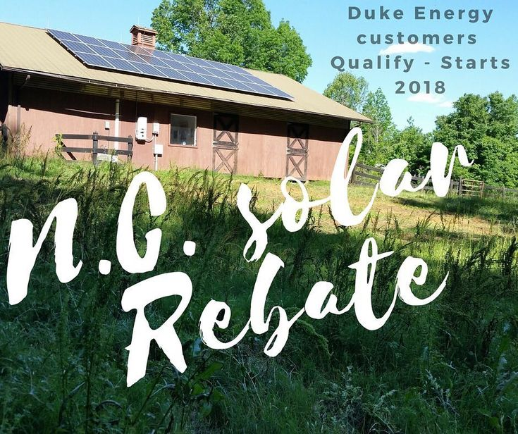 This week Duke Energy Carolinas and Duke Energy Progress proposed new #solarpanels rebates in N.C. Reach out to us to see if it can help you save - info in bio! #solarsavings #cleanenergy #whatcouldbebetter #CLT