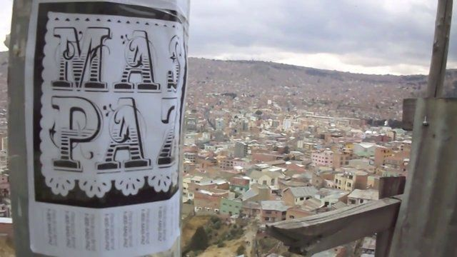 MasPaz in La Paz, Bolivia  Lost footage from September 2012, recently found and edited, Feb 2014.   Music by Los Laris - Chilli