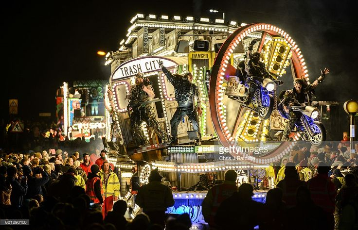 The 'Masqueraders' club exhibit their cart during the annual Bridgewater Carnival on Bonfire night on November 5, 2016 in Bridgwater, England. Bridgwater Carnival is the first of the Somerset Carnival season and sees 47 carts taking place, 27 of which are over 100 feet in length and the event gathers crowds of 150,000. It starts the series of parades in towns throughout Somerset in November, widely regarded as the largest illuminated Carnival in Europe. The major regional event which raises…