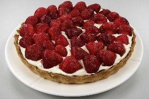 Jordbær Mazarintærte