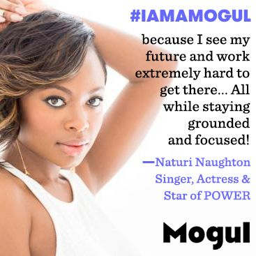 "This is how Naturi Naughton, of 50 Cent's Starz show ""Power"", believes #IAmAMogul: https://onmogul.com/stories/iamamogul-because-i-see-my-future-and-work-extremely-hard-to-get-there-by-naturi-naughton"