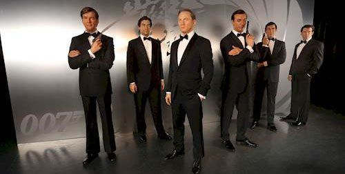 Last chance to see All 6 #JamesBonds thru 9/30 Madame Tussauds LV $10 Off Tickets http://www.destinationcoupons.com/nevada/las_vegas/madame-tussauds/madame-tussauds-discounts.asp #MadameTussauds #LasVegas #Vegas