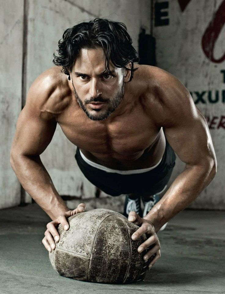 British Mens Health, Joe Manganiello Workout