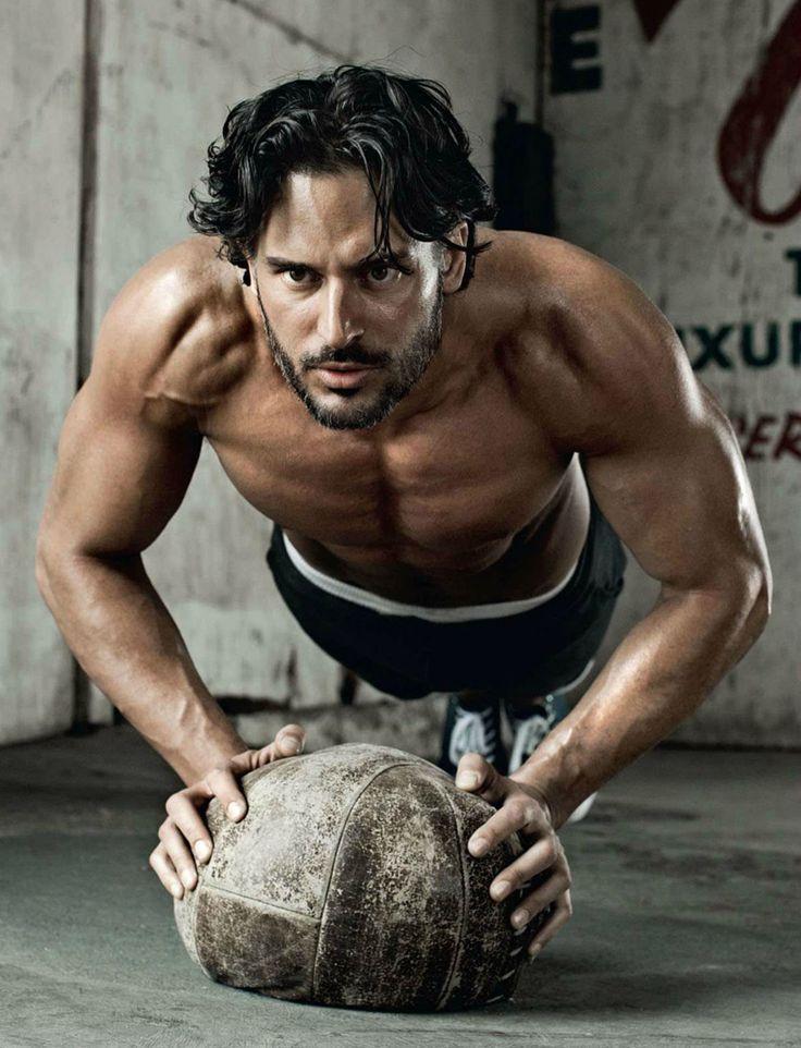 British Mens Health, Joe Manganiello Workout