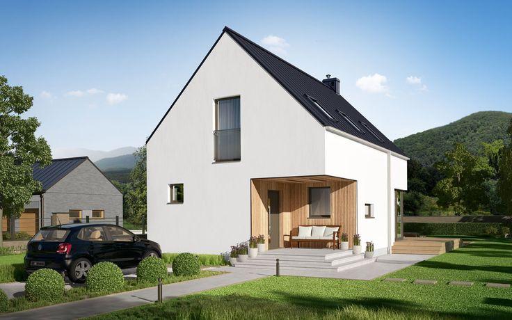 DOM.PL™ - Projekt domu DEA Kotka CE - DOM DE1-31 - gotowy projekt domu