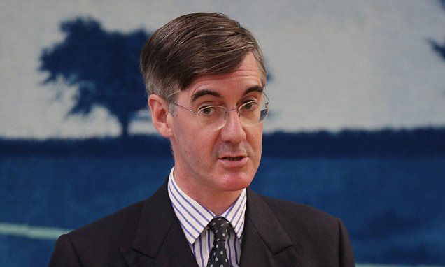 From May to Mogg you must be bloody joking Jacob Rees-Mogg has warned Theresa May to deliver hard Brexit