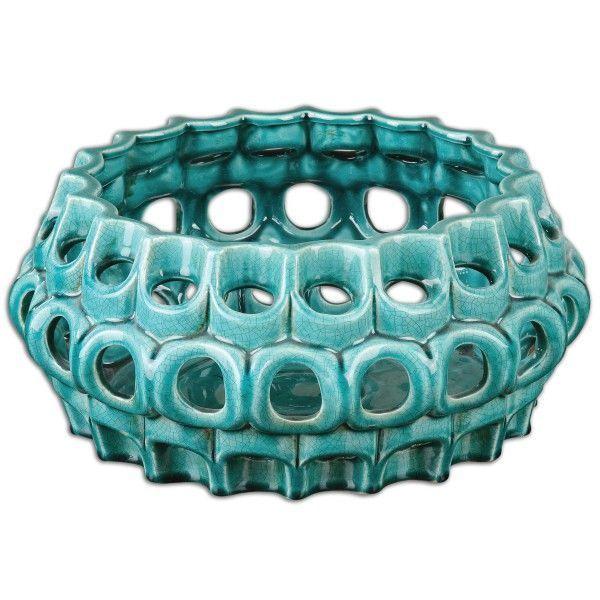 Idilia Teal Bowl - Homeware - $246 - domino.com