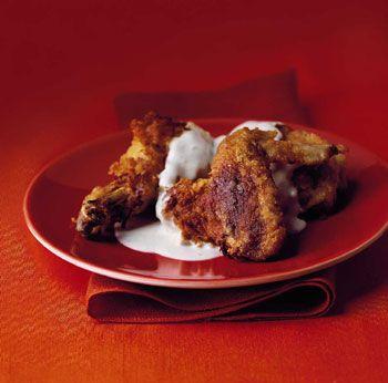 Maryland Fried Chicken with Cream Gravy