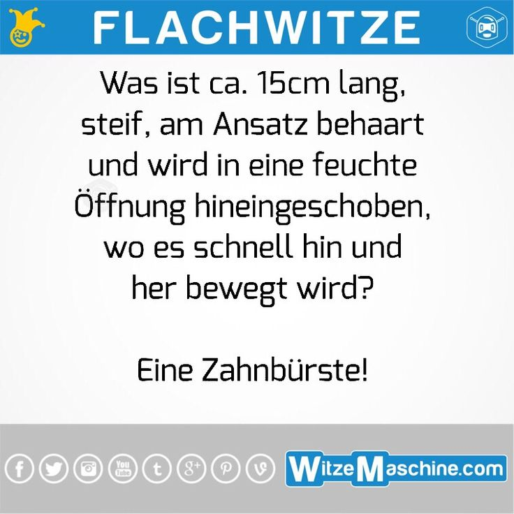 Flachwitze #121
