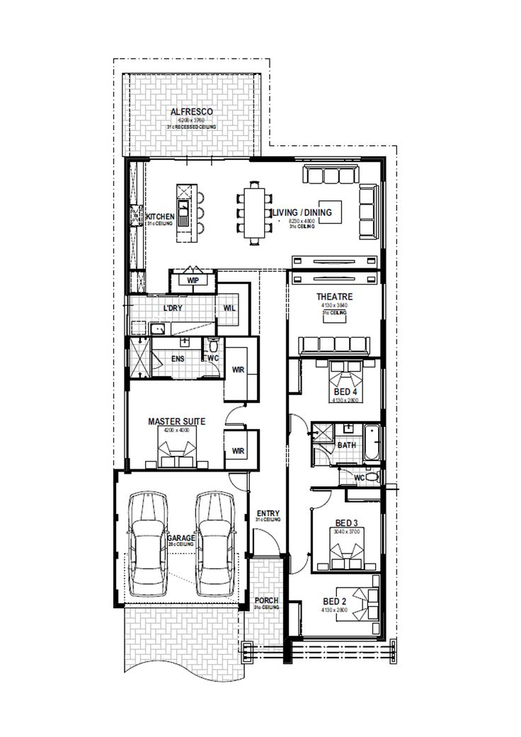 Capri floorplan