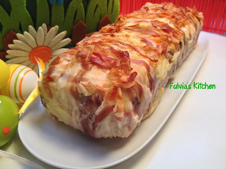 Fulvia's Kitchen: #Terrina di #pollo con #asparagi e #fontina