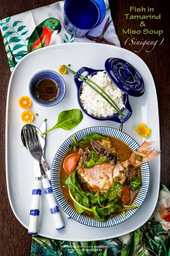 Apron and Sneakers - Cooking & Traveling in Italy and Beyond: Fish in Tamarind and Miso Soup (Sinigang)
