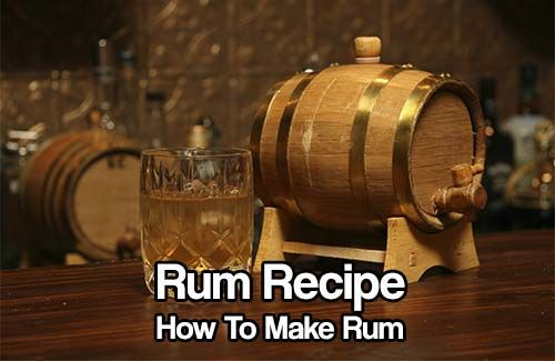 Rum Recipe, How to Make Rum. This is a great skill to know and master for a SHTF situation, Alcohol or the rum could be used for barter.